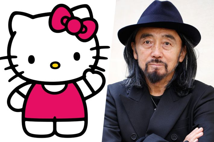 Hello Kitty and Yohji Yamamoto.