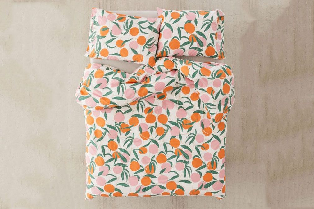 Urban Outfitters Peaches Duvet Set