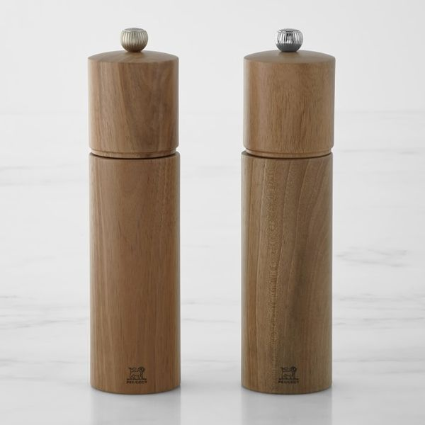 Peugeot Chatel Cherrywood Salt & Pepper Mills Set, 9 Inches