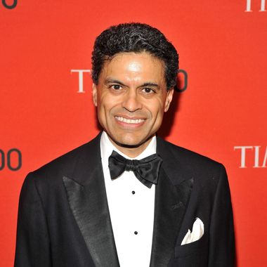 Journalist Fareed Zakaria attends the TIME 100 Gala