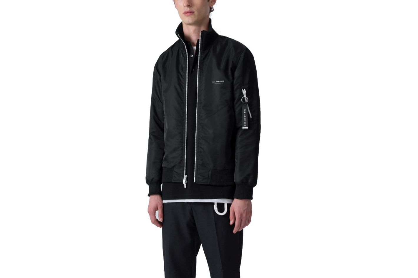 The Arrivals Niels Track Bomber Jacket