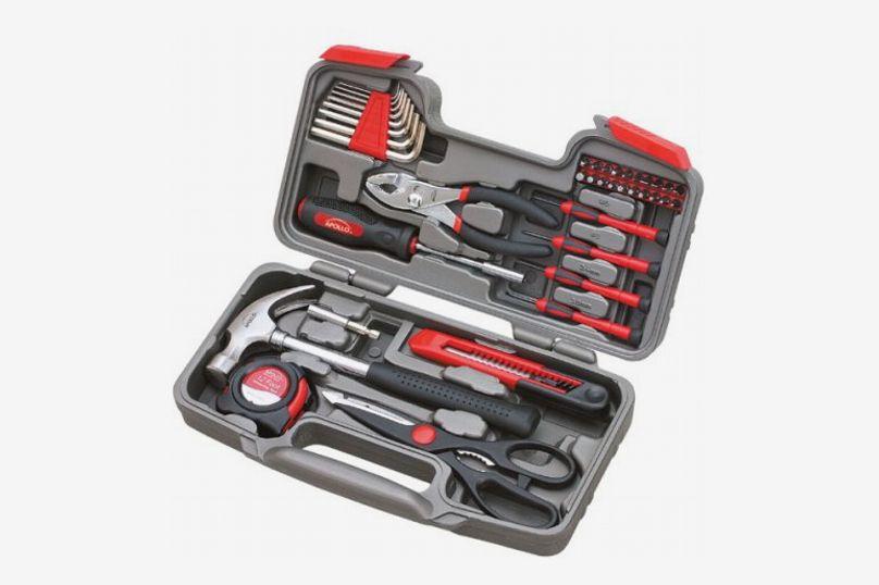 Apollo Tools DT9706 Original General Repair Hand Tool Set, 39-Piece