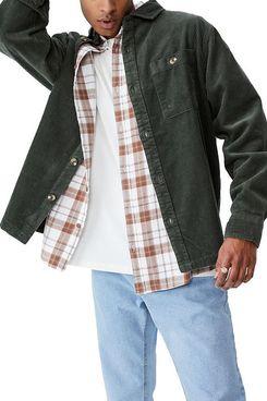 Cotton On Men's Heavy Overshirt