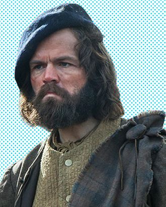 3a9e58488b9 Outlander s Stephen Walters on Kissing Claire and Having a Mouth Full of  Fake Blood