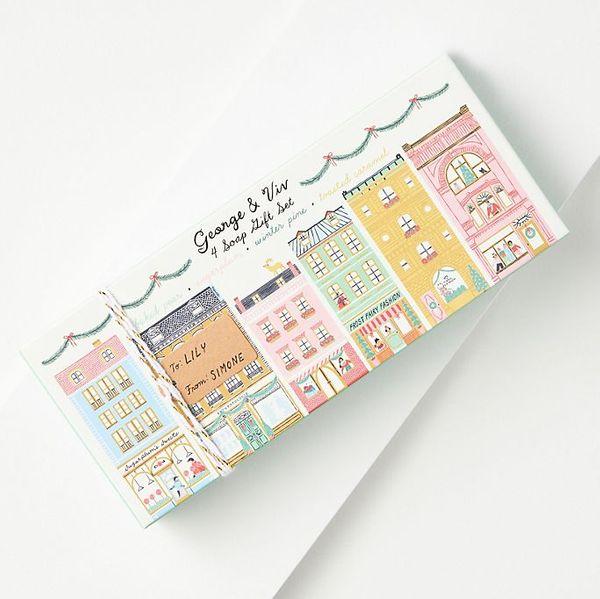 George & Viv Holiday Bar Soap Gift Set
