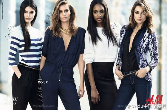 <b>Models:</b> Andreea Diaconu, Jourdan Dunn, Nadja Bender,and Sui He  <b>Photographer: </b>Lachlan Bailey