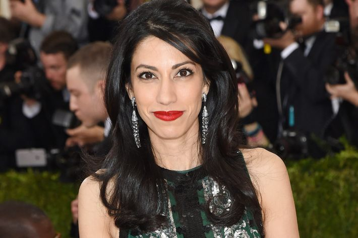 Huma Abedin at the Met Gala.
