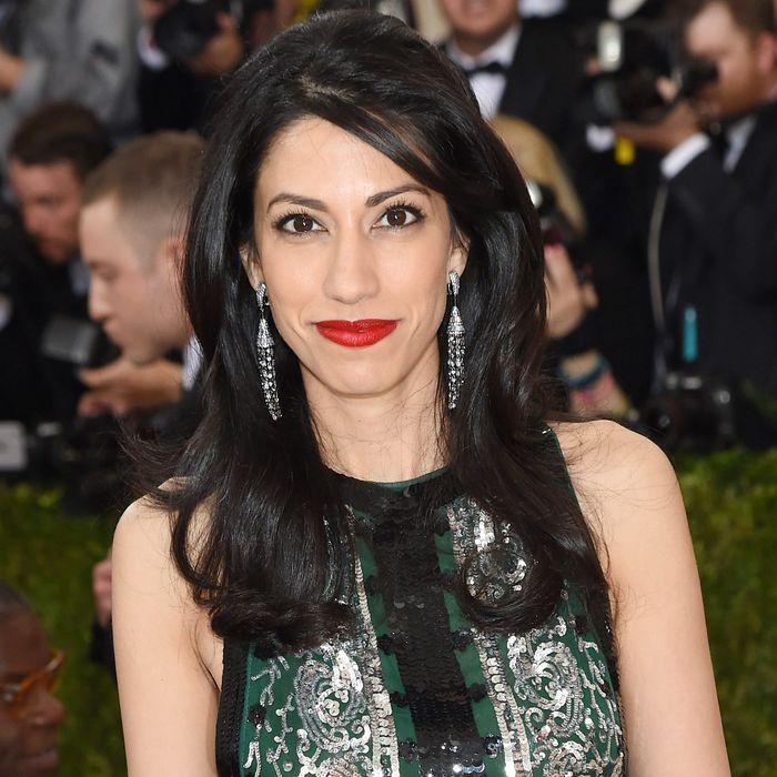 Huma Abedin at the Met Gala.