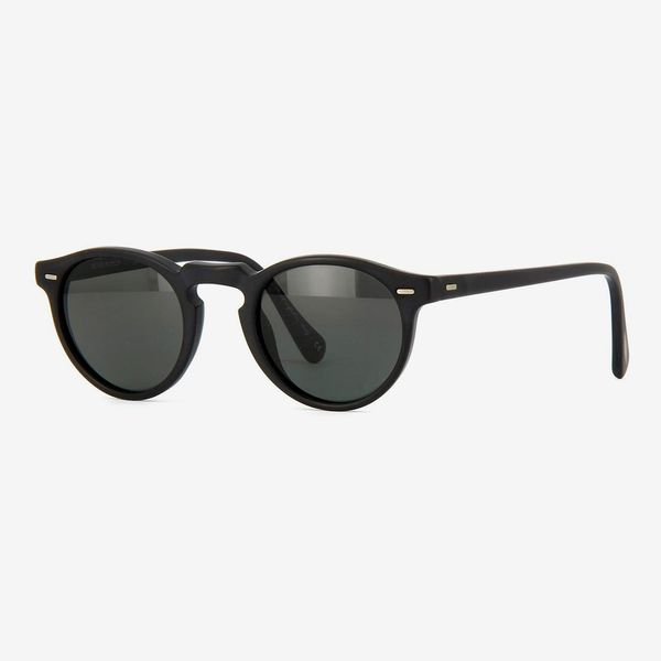 Oliver Peoples Eyewear Men's Gregory Peck Polarized Sunglasses