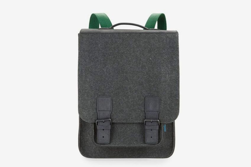 M.R.K.T. Kendrick Felt and Faux Suede Backpack