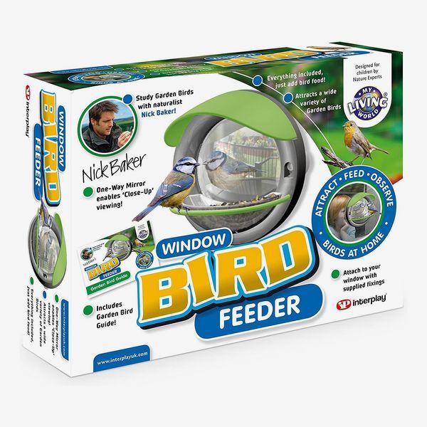 One-Way Mirror Window Bird Feeder