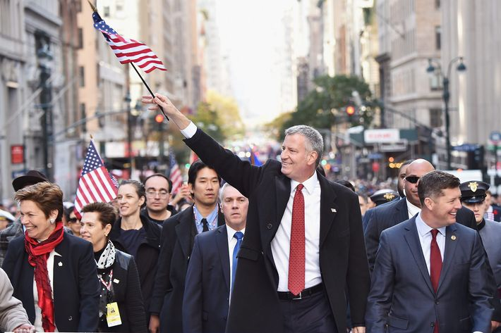 U201cWe Are Not Going To Sacrifice A Half Million People Who Live Among Us,u201d De  Blasio Said Of Protecting Undocumented Workers. Photo: Michael  Loccisano/Getty ...