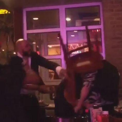 Video footage depicted a brutal crime.
