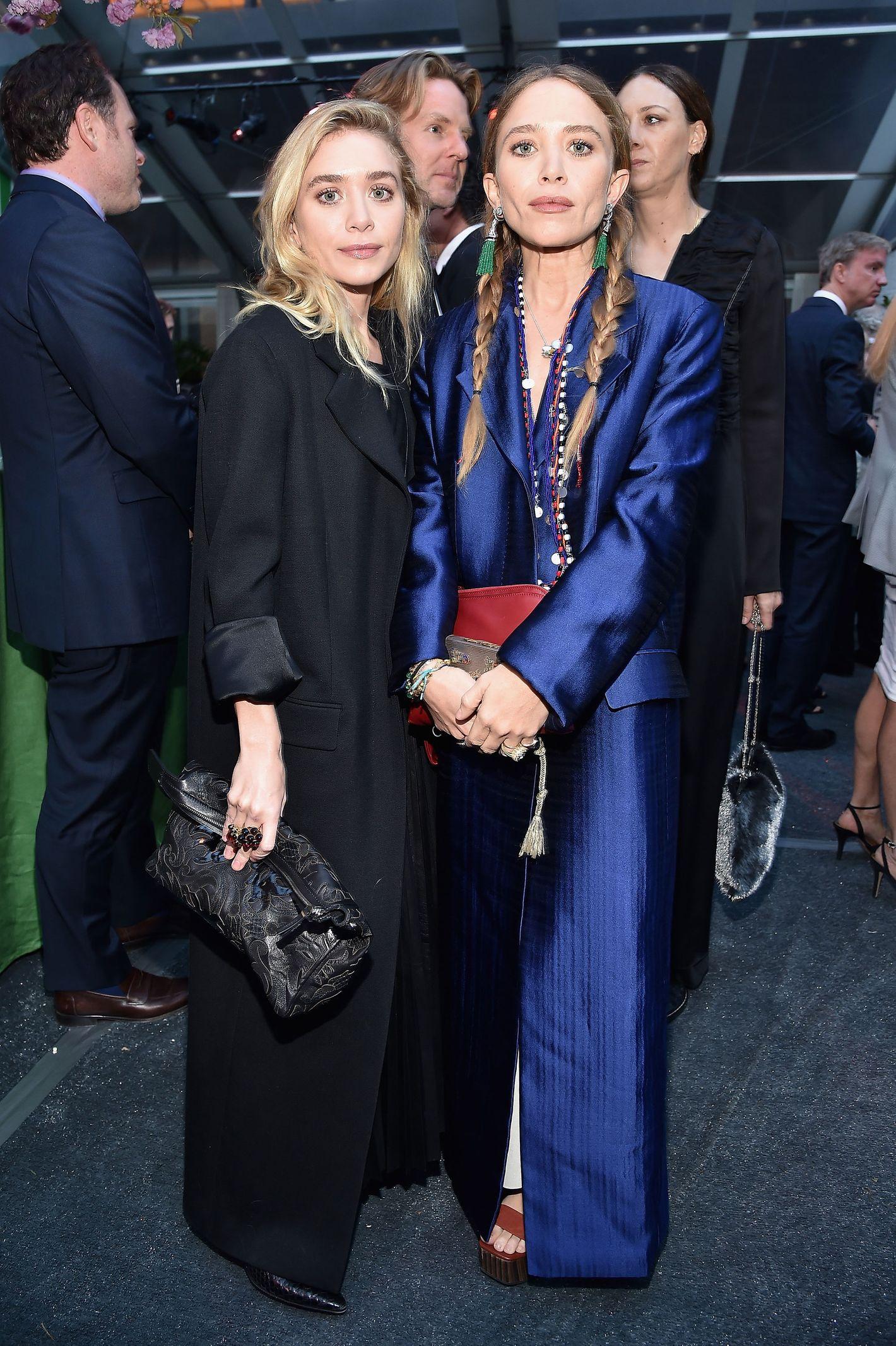 Olsen twin dating older