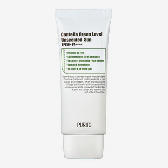 PURITO Centella Green Level Sun unscented SPF50 + PA ++++