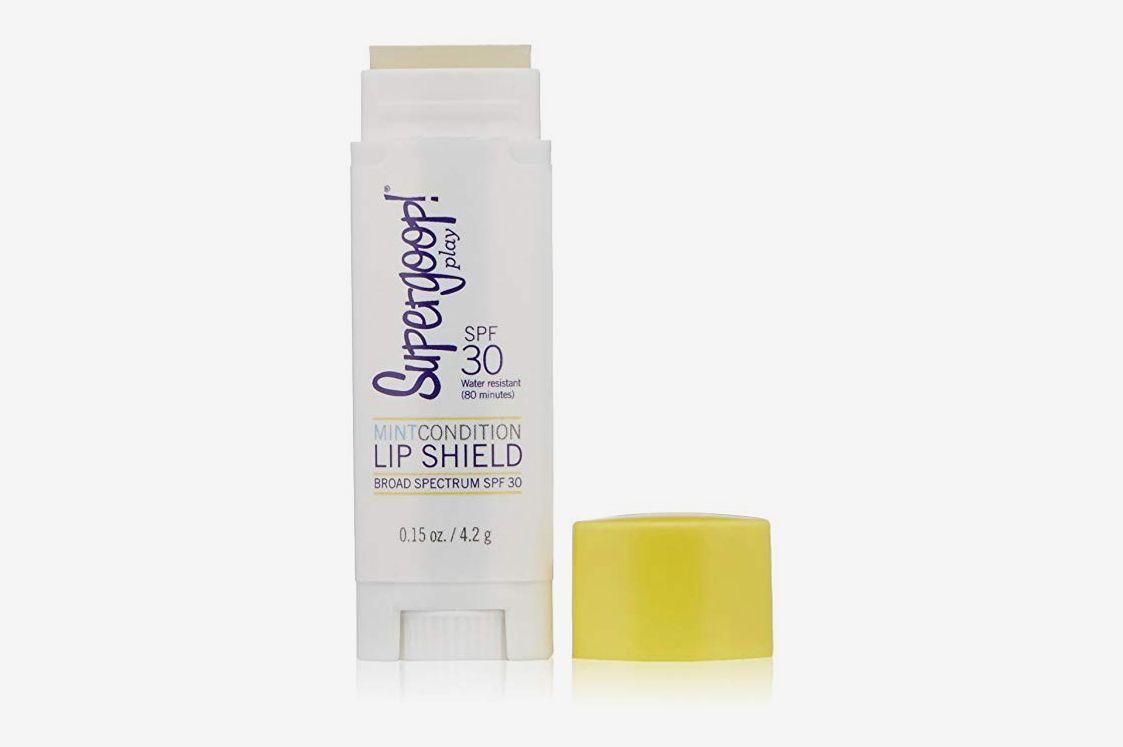 Supergoop! État neuf Lip Shield SPF 30, 0,15 oz.