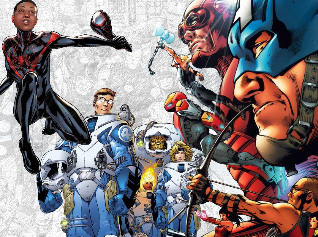 Image result for Marvel: The Ultimate Comic Book