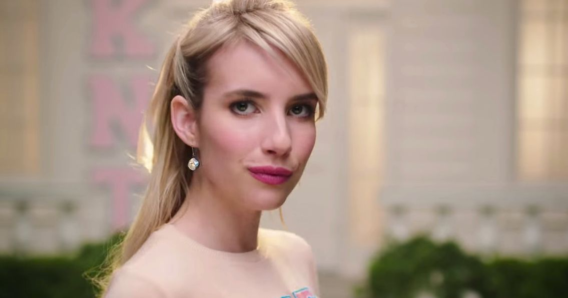 Emma Roberts Stars In A Gum Smacking Scream Queens Teaser