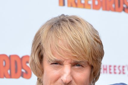 "HOLLYWOOD, CA - OCTOBER 13:  Actor Owen Wilson arrives at the premiere of Relativity Media's ""Free Birds"" at the Westwood Village Theatre on October 13, 2013 in Hollywood, California.  (Photo by Alberto E. Rodriguez/Getty Images for Relativity Media)"