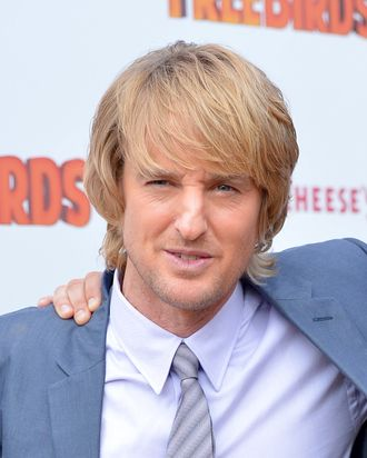 HOLLYWOOD, CA - OCTOBER 13: Actor Owen Wilson arrives at the premiere of Relativity Media's