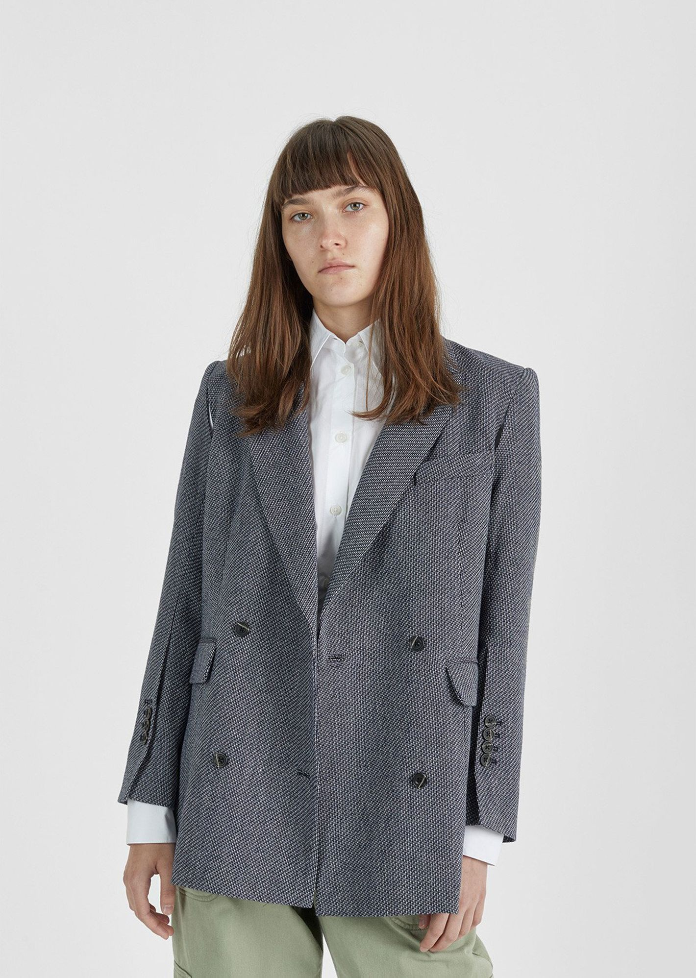 Rachel Comey Rupture Double-Breasted Blazer