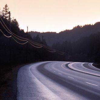Bend in Road