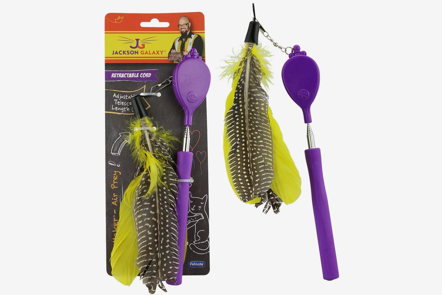 Jackson Galaxy Air Prey Telescoping Wand Teaser