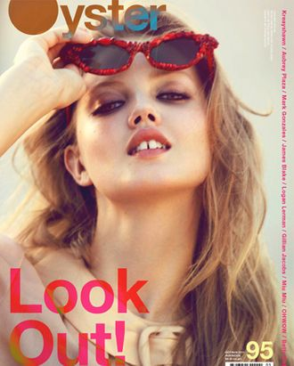Lindsey Wixson for <em>Oyster</em> magazine.
