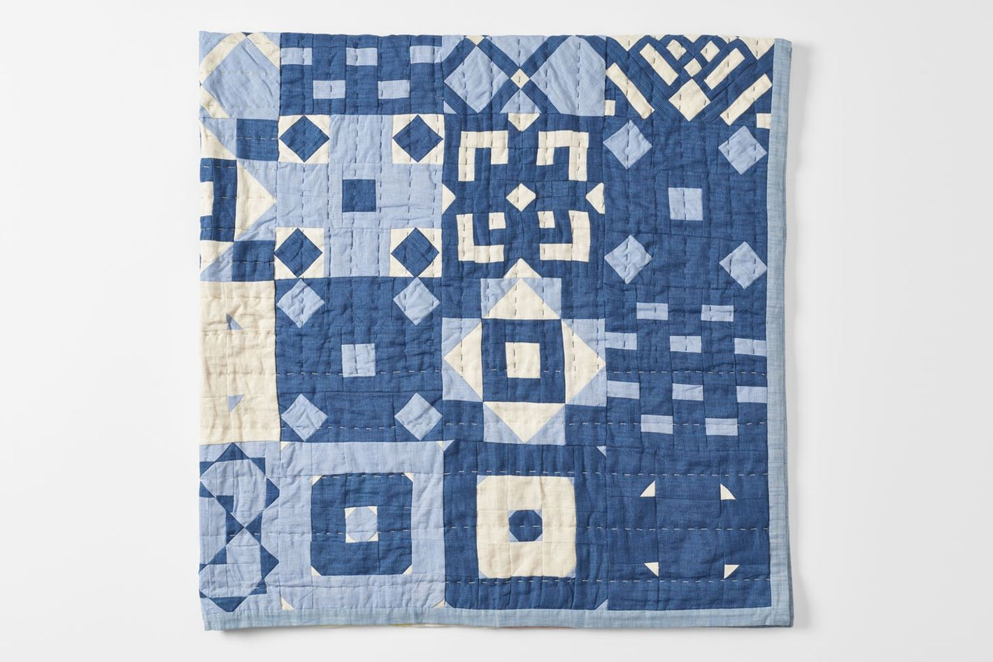 March Thompson Street Studio Indigo Tile Quilt
