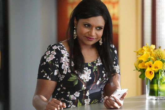 "THE MINDY PROJECT: Mindy (Mindy Kaling) corresponds with a mystery man in the ""Danny and Mindy"" Season Finale episode of THE MINDY PROJECT airing Tuesday, May 6 (9:30-10:00 PM ET/PT) on FOX. ?2014 Fox Broadcasting Co. Cr: Jordin Althaus/FOX"