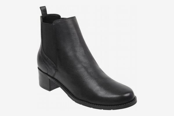 Easy Spirit Niles Double Gore Heeled Booties