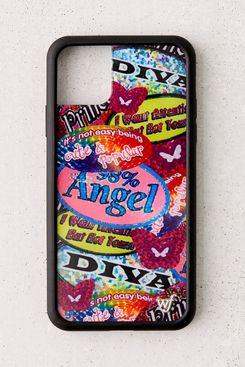 Wildflower UO Exclusive Sticker Book iPhone Case