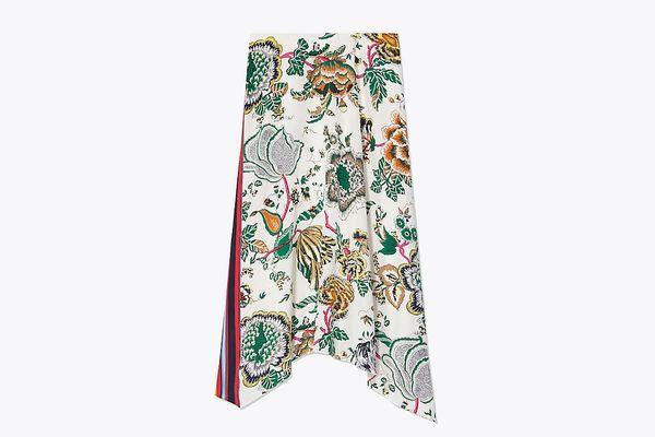 Tory Burch Printed Skirt