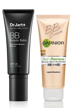 BB creams from Dr. Jart and Garnier