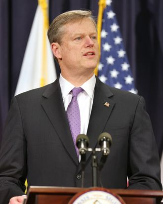 Baker Budget Aims To Rein In State Spending