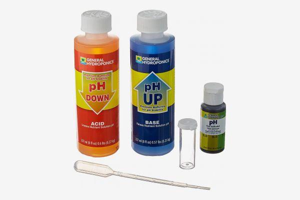 General Hydroponics pH Up & pH Down, 8 Oz