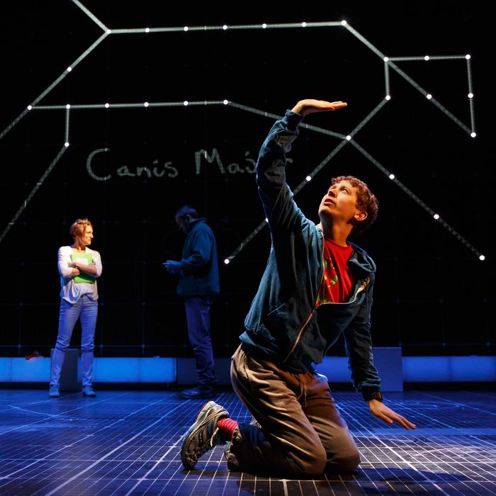 Onstage, The Curious Incident of the Dog in the Night-Time