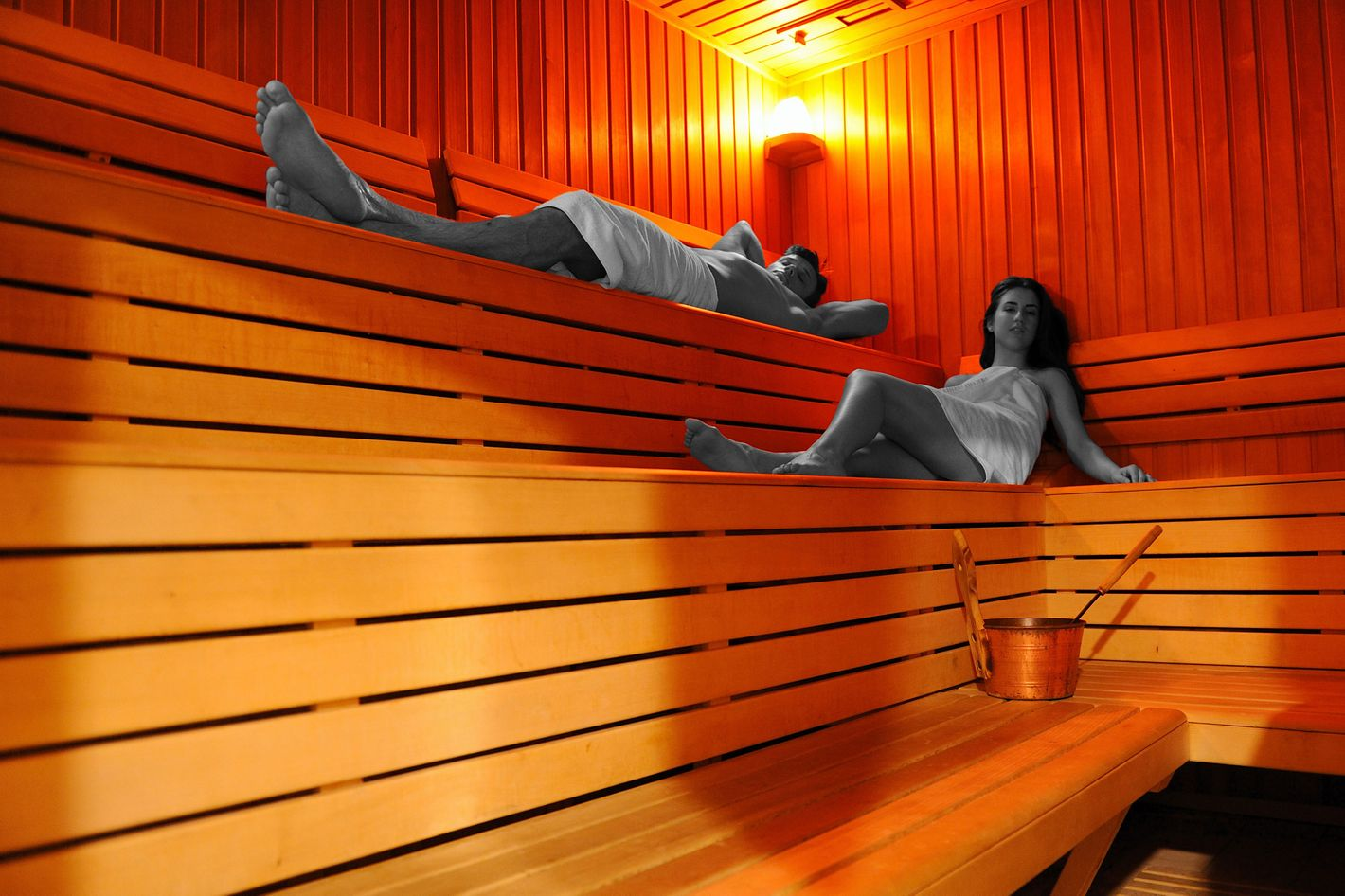 The Easiest Way to Burn 600 Calories Is by Sitting in a 150-Degree Box