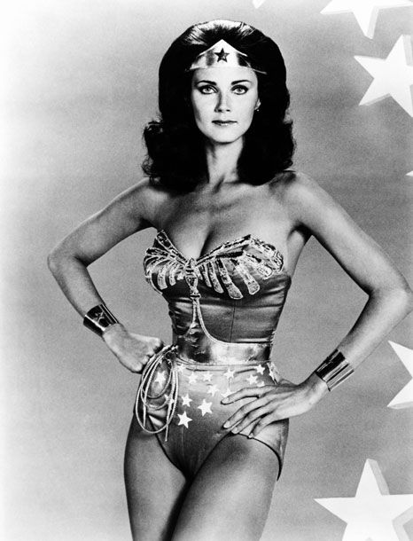 Lynda Carter in <i>The New Adventures of Wonder Woman</i>, 1975-1979