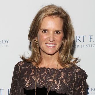 NEW YORK, NY - DECEMBER 05: Kerry Kennedy attends the Robert F. Kennedy Center for Justice and Human Rights 2011 Ripple of Hope Awards dinner at Pier Sixty at Chelsea Piers on December 5, 2011 in New York City. (Photo by Rob Kim/Getty Images for RFK Center)