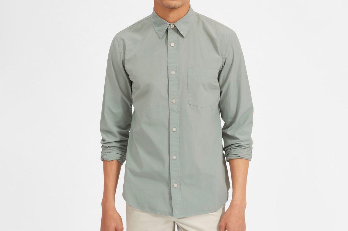 Everlane Garment-Dyed Cotton Shirt