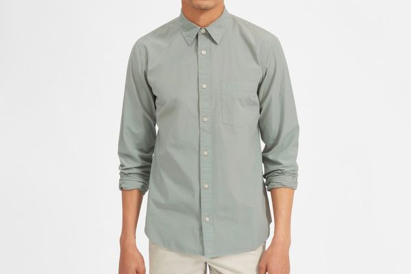 Everlane Garment-Dyed Cotton Shirt
