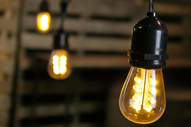 Edison Drop String Lights