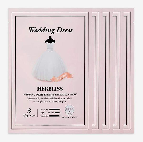Merbliss Wedding Dress Intense Hydration Day Mask (5 Pack)