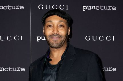 "Actor Jesse L. Martin attends the ""Puncture"" premiere at the Angelika Film Center on September 15, 2011 in New York City."