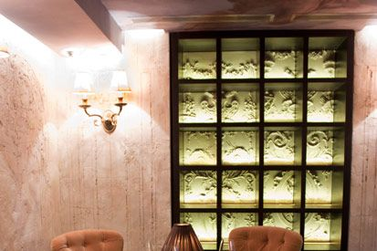 The old Brasserie Pushkin.