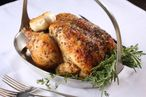 It doesn't get much better than this roast organic Zimmerman Farm chicken.