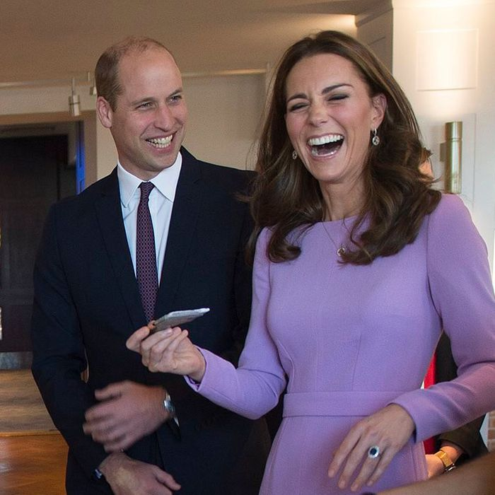 Art, Prince William, and Kate Middleton.