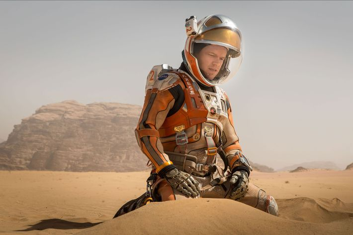 """Hey, this is Matt Damon. You busy? I'm stuck in space again."""