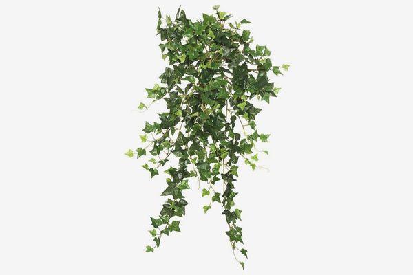 Vickerman 26-Inch Silk Mini Ivy Hanging Bush